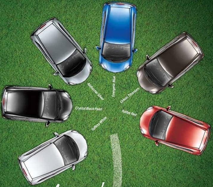 Honda Brio Available Colors