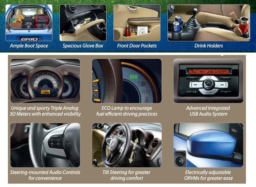 Honda Brio Interior