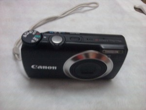 Canon A3300 Front Iso view