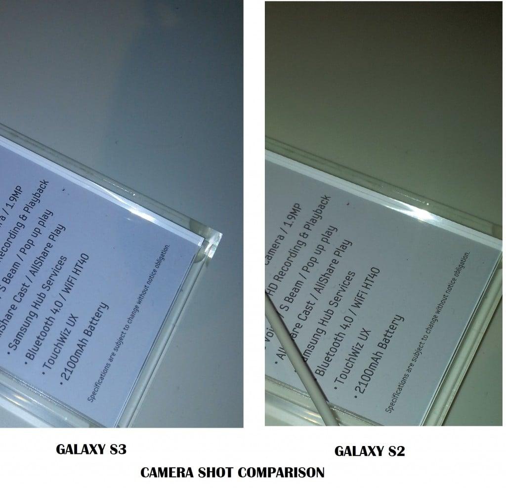 Samsung Galaxy S3 And S2 Camera Shot Comparison