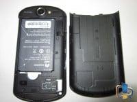Huawei IDEOS X5 U8800 Pro Back Opened