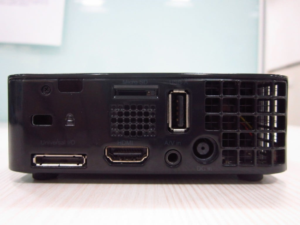 Dell M110 Projector Rear View