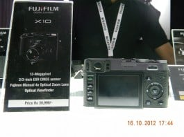 FUJIFILM X10 Price and Specifications in India
