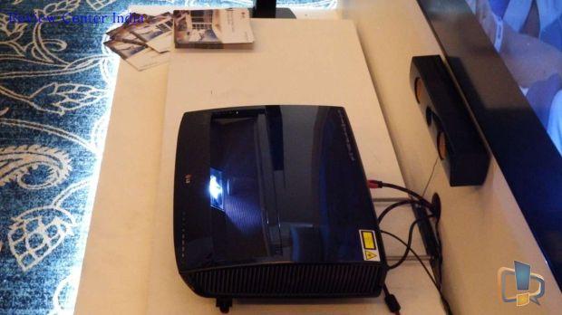 LG HECTO Laser Projector