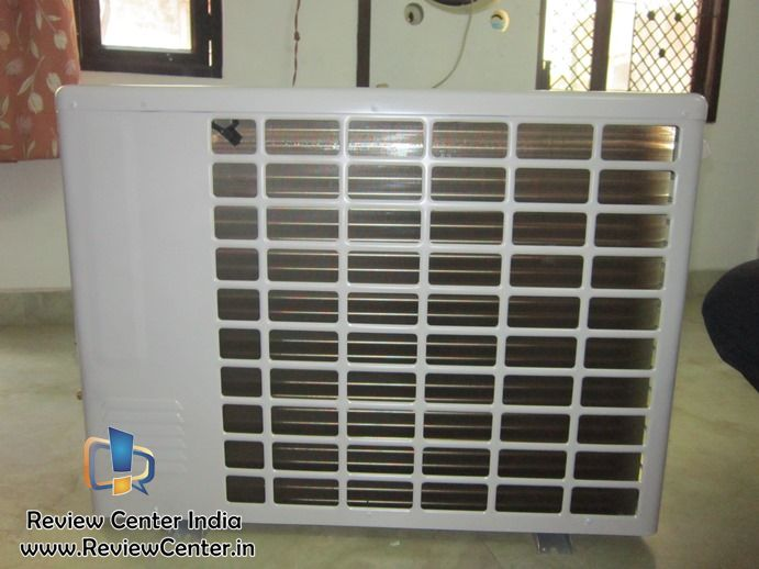 LG Inverter V AS-W186C2U1 Outdoor Unit Back View