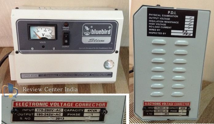 Voltage Stabilizer to be Used with Air Conditioner