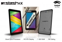 Swipe MTV Slash 4X Technical Specifications and Price
