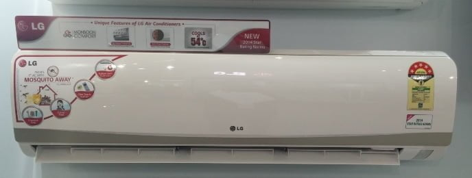 LG Air Conditioner with Mosquito Away Technology