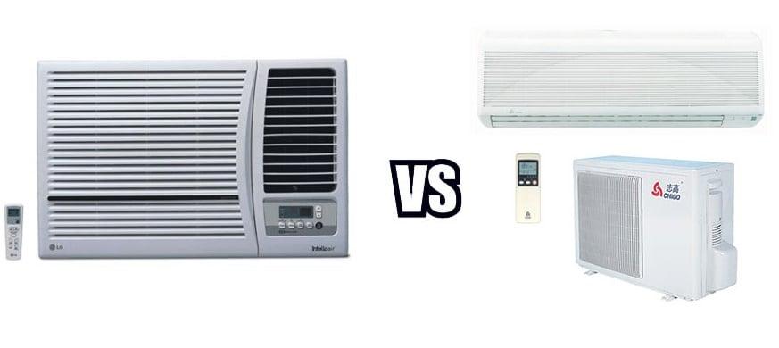 How to Decide Between Choosing Window or Split AC