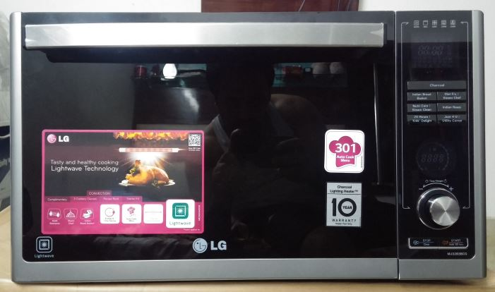Lg Charcoal Lighting Microwave Review
