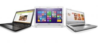 Lenovo Z41, Lenovo Z51 and IdeaPad 100