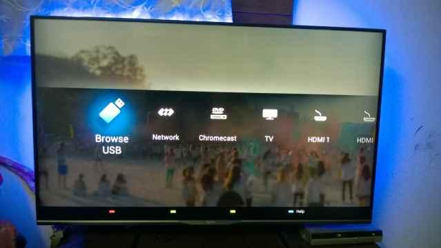 Philips Ambilight TV Interface