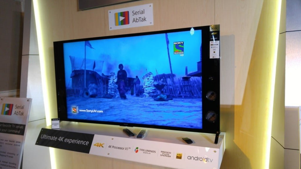 Sony Launches Bravia TV's with Android and World's Slimmest