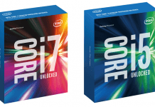 Intel 6th Gen Skylake Processor Retail Packaging