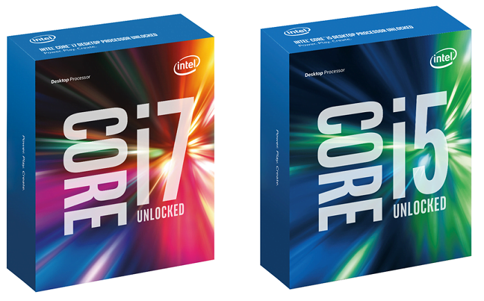 Intel 6th Gen Skylake Processor Retail Packaging