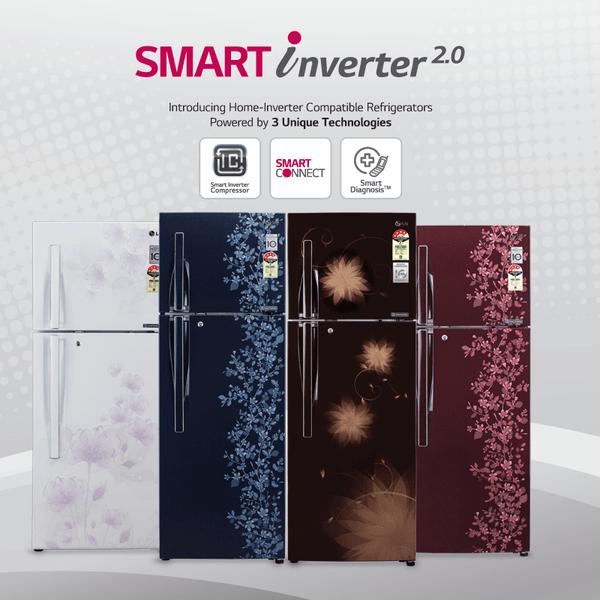 LG Smart Inverter 2.0 refrigerator