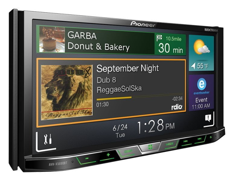 Pioneer India Touch Screen AV Players New Range is Out