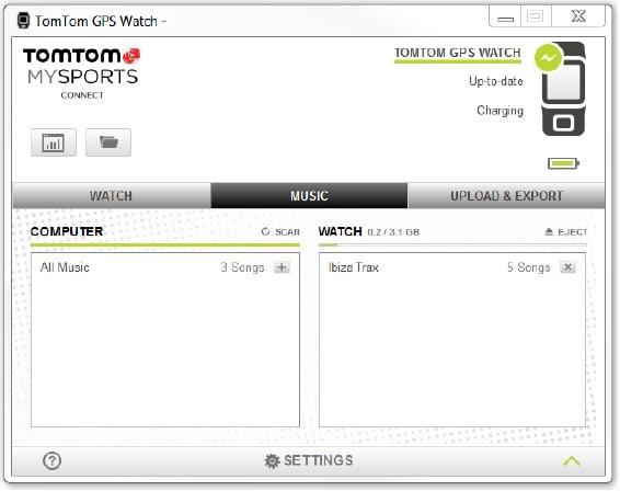 TomTom Spark Software