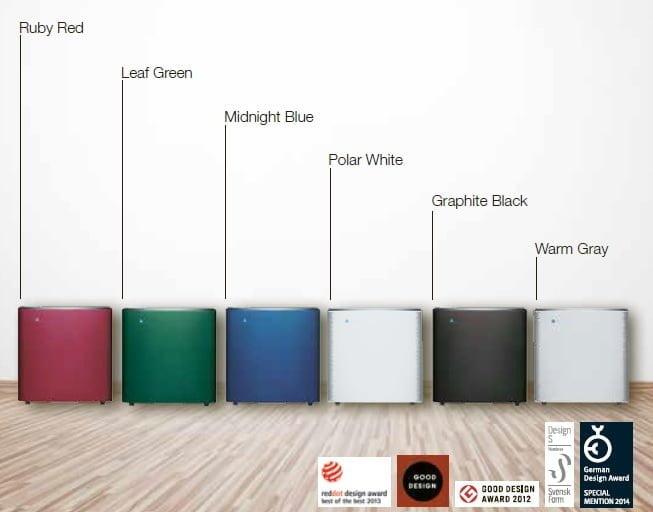 Blueair Sense+ Color Options