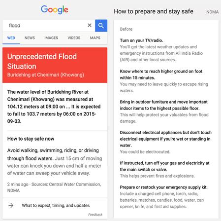 Google to offer 'Flood Alerts' as part of Google Public Alerts