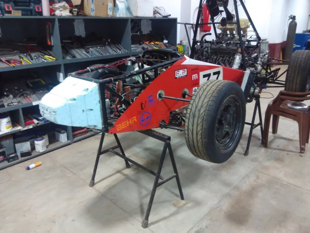 Formula 1 Racing Car at Manipal