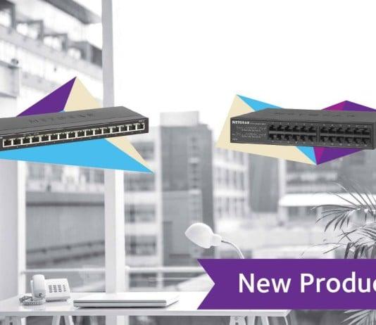 Netgear Launched New Gigabit Ethernet Switch Range