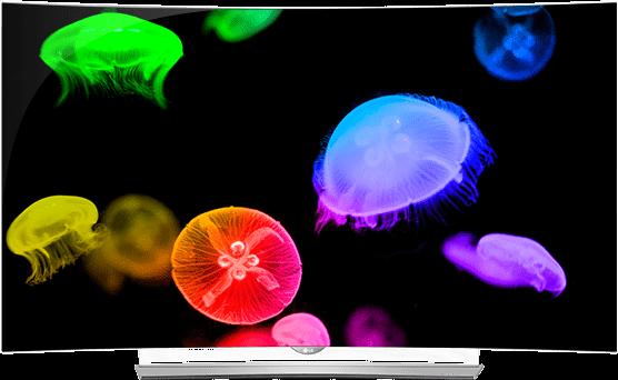 LG 4K OLED Colors