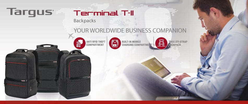 Targus Terminal T-II Series Backpack Features & Price
