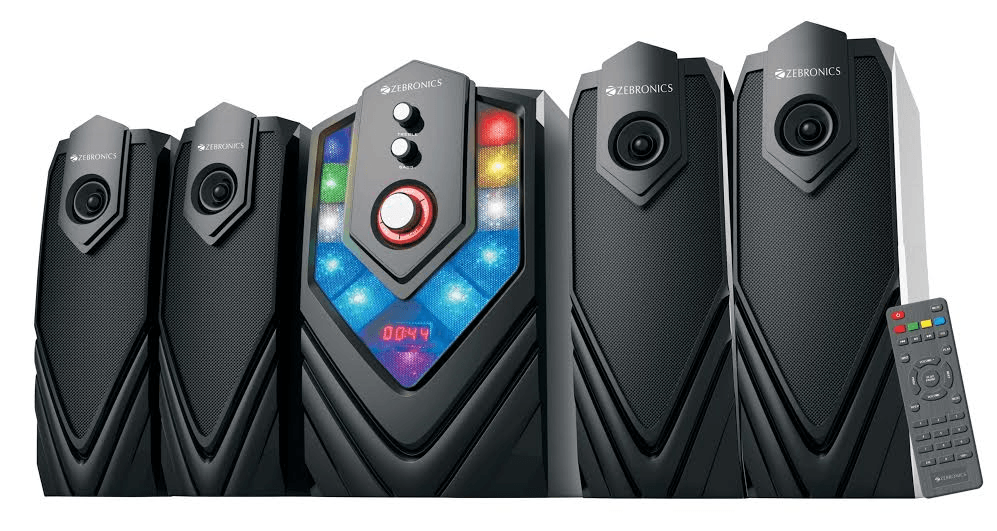 Zebronics Introduces its High Decibel 4.1 Speakers 'Samba', Priced at Rs. 4747/-