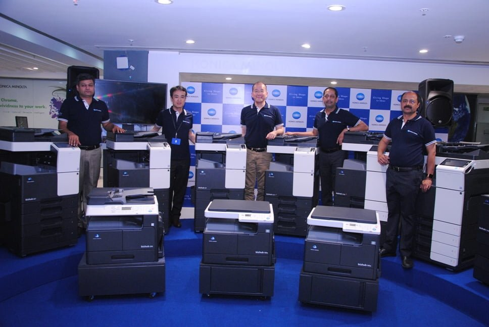 Konica Minolta Launched New Range of Color & Monochrome MFP Printers