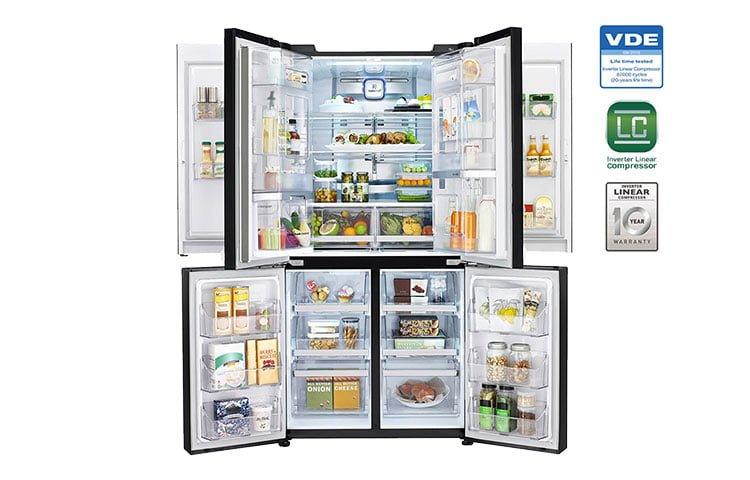 LG Dual door-in-door refrigerator