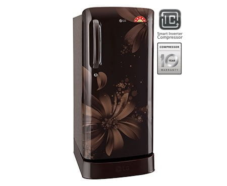 LG Single Door with Smart Inverter Compressor technology