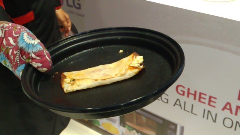 Dosa made in LG Microwave