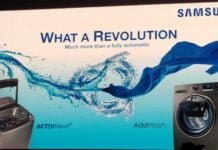Samsung New Washing Machines