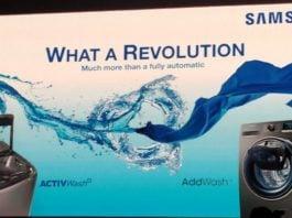 Samsung New Washing Machines
