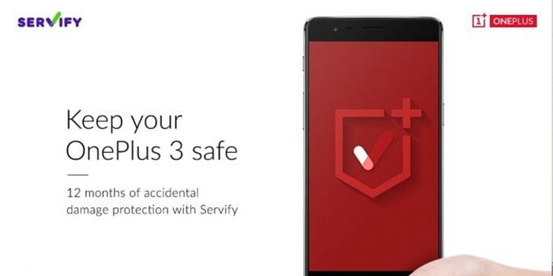Servify OnePlus Collab
