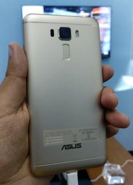 Asus Zenfone 3 Laser Back