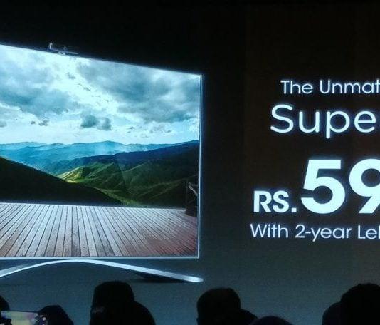 LeEco Super3 X55 Price