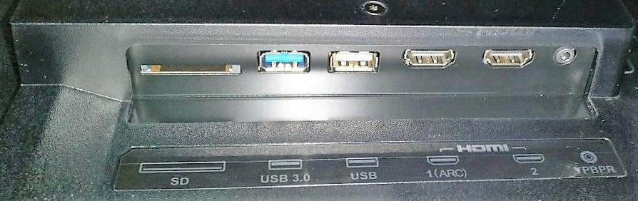 LeEco TV USB Input