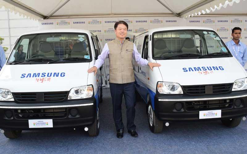 samsung-service-van