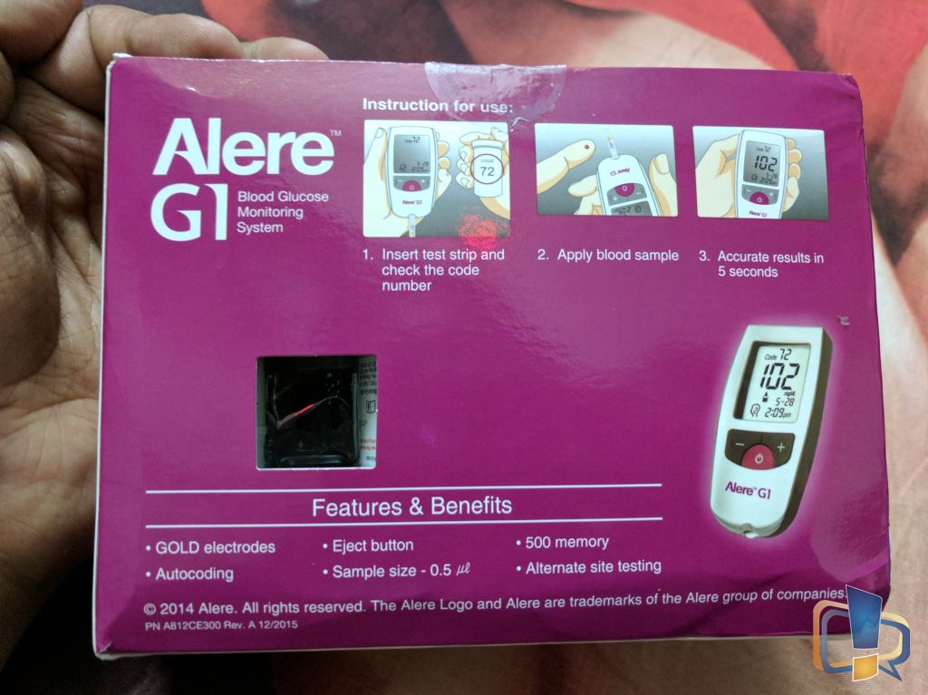 Alere G1 Blood Glucose Monitor Review