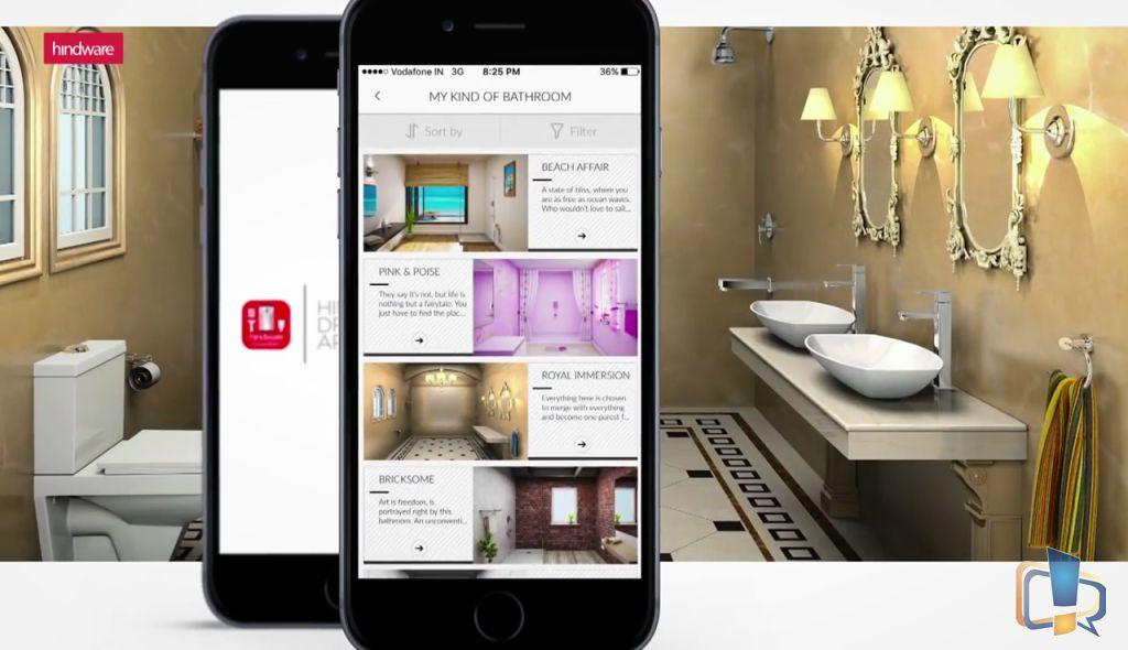 Bathroom App hindware dreambath app review - design your bathroom with india's