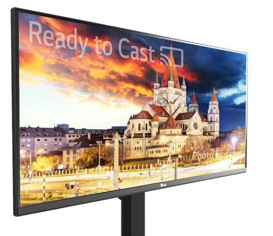 LG 4K Ultrawide Monitor 34UM79M