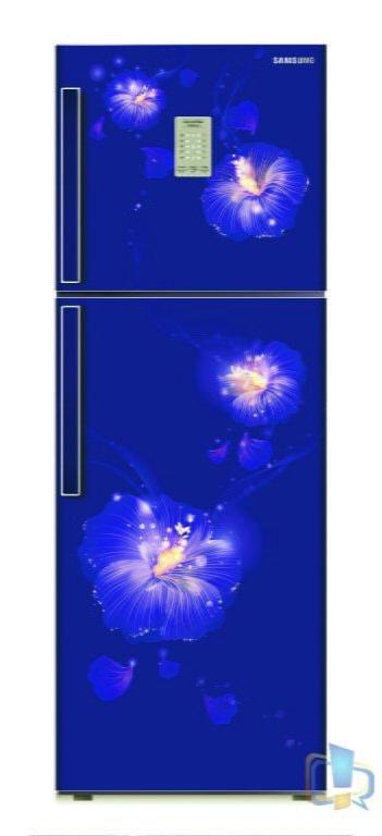 Samsung 2 Door Rose Mallow Blue Refrigerator