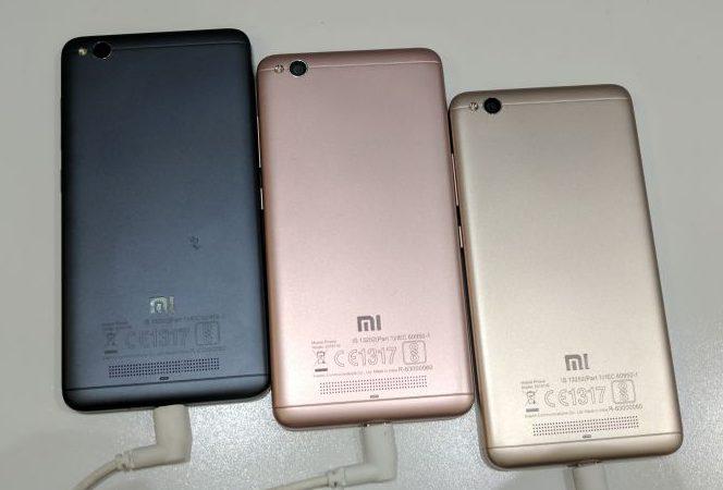 Xiaomi Redmi 4A Color Variants
