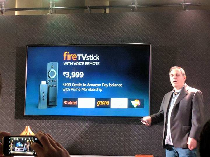 Amazon Fire TV Stick Launched in India