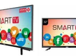 Usha Shriram launches Smart TVs on Amazon and Paytm