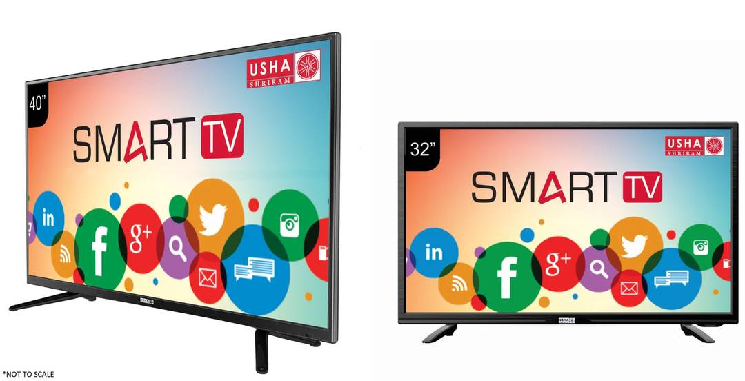 Usha Shriram launches Smart TVs on Amazon and Paytm