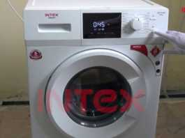 Intex Launches its First Front-Load Fully-Automatic Washing Machine