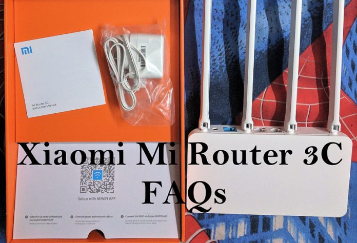 Mi Router 3C FAQ: Things you should know before buying it